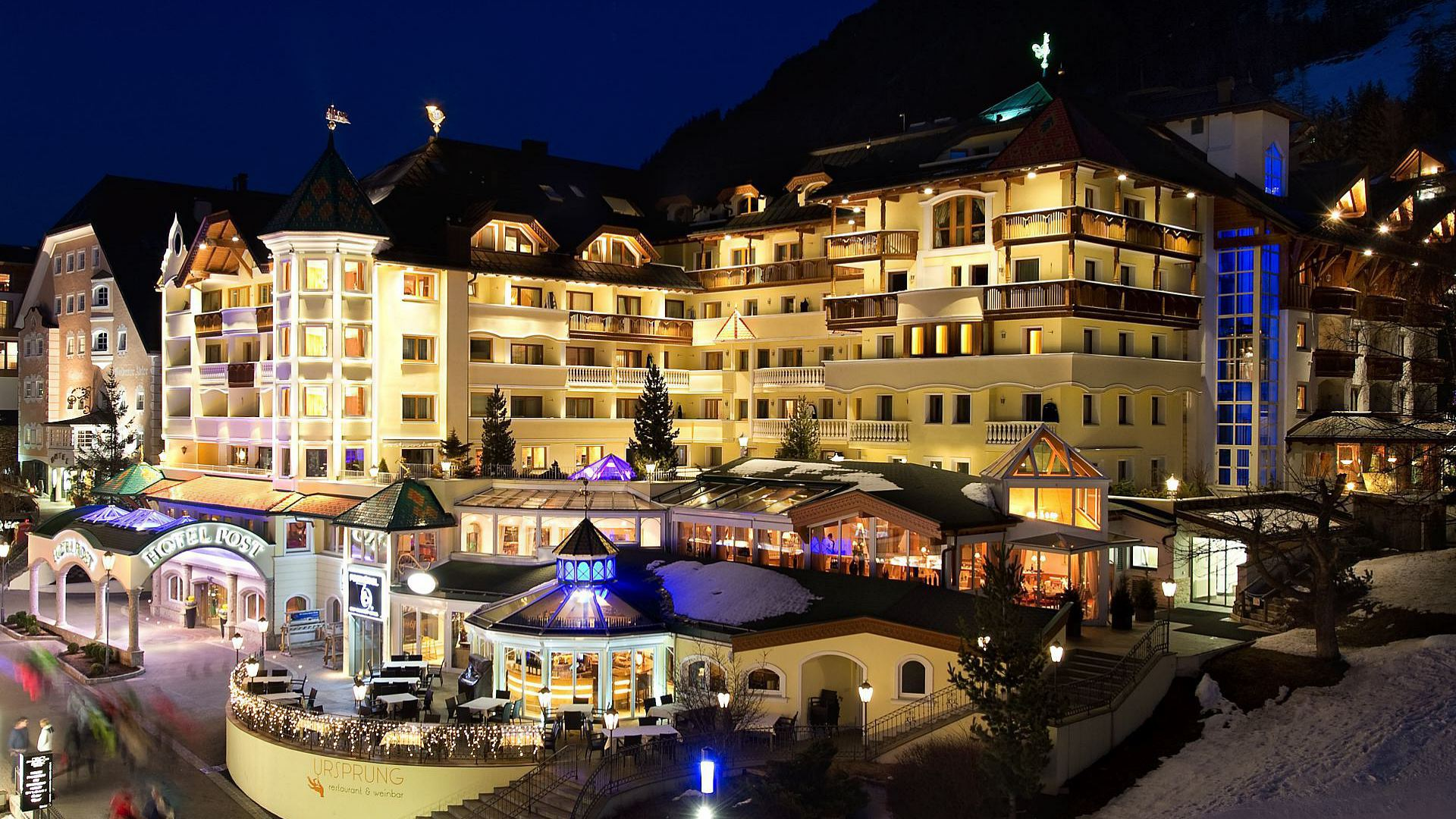 Hotel Post Ischgl, Winterurlaub in Tirol