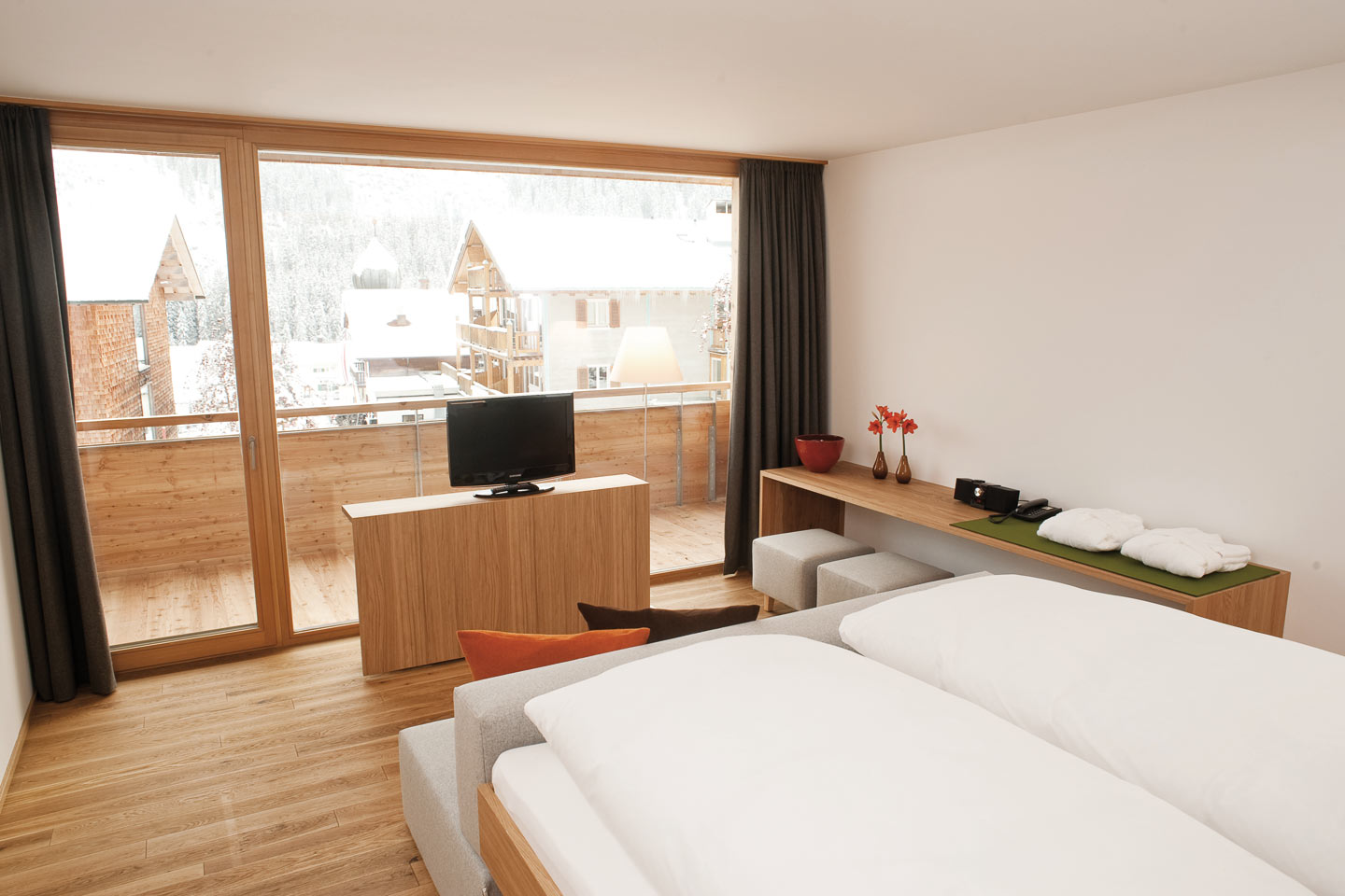 Alpensuite im Hotel Rote Wand in Lech am Arlberg