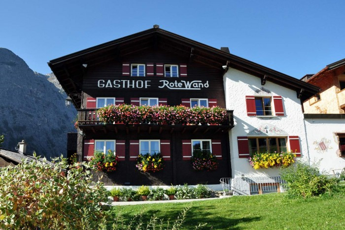 Hotel Rote Wand in Zug - Lech am Arlberg